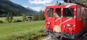 Nejkrásnější kouty Švýcarska panoramatickými drahami **+
