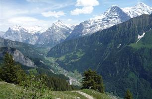 Nejkrásnější kouty Alp (letecky)