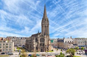 Paříž a neznámá Normandie - letecky