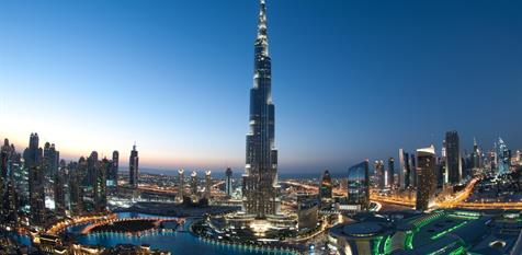 Prodloužený víkend v Dubaji