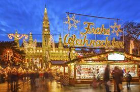 Advent ve Vídni z Prahy