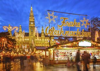 Advent ve Vídni z Písku