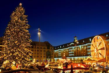 Advent v Drážďanech z Plzně