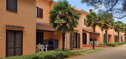 Apartmány a bungalovy Savudrija