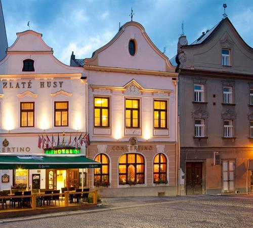 Hotel Concertino - Zlatá Husa
