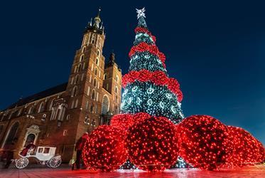 Advent v Krakově z Moravy