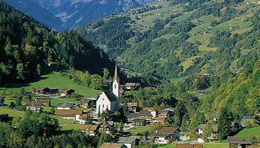 Alpské parky a střediska rakousko-švýcarského pomezí s kartou Montafon-Brandnertal
