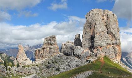 Sextenské Dolomity - výletní cíl habsburské aristokracie