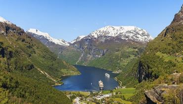 Norsko - zlatá cesta severu - letecky