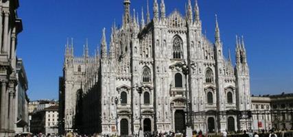 Milano - letecky za památkami, kulturou i nákupy