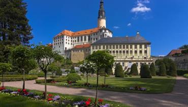 Krásy a památky Saska