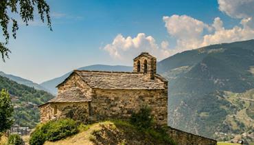 Katalánsko a Pyreneje - letecky