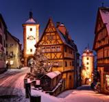 Adventní perly Bavorska: Norimberk a Rothenburg ***