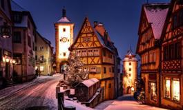 Adventní perly Bavorska: Norimberk a Rothenburg