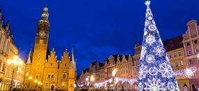 Advent ve Wroclawi a Dolním Slezsku