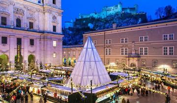 Advent v Salzburgu a na Wolfgangsee