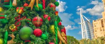 EXPO a Vánoční nákupy v Dubaji