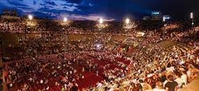 Severní Itálie: Verona a opera Nabucco
