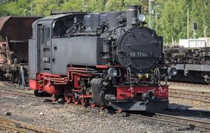 Putování po úzkokolejných dráhách v Sasku