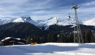 Jarní lyžování v Davosu - Pavillon Maxon
