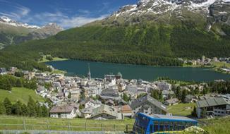Švýcarsko: Turistika ve Svatém Mořici