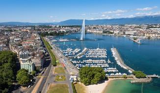 Autosalon Ženeva 2020 letecky