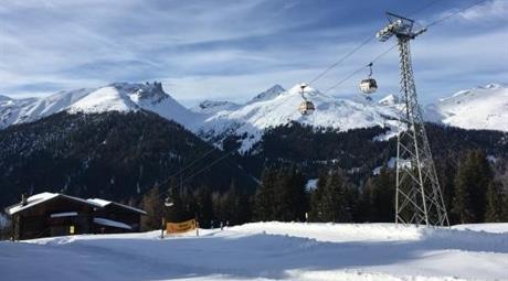 Jarní lyžování v Davosu