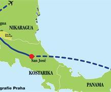 Panama - Kostarika - Nikaragua