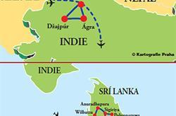 Srí Lanka - Indie **