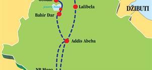Velký okruh Etiopií **