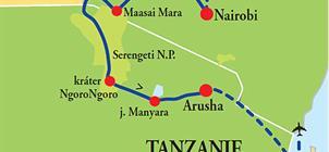 Keňa - Tanzanie - Zanzibar **