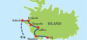Okruh Islandem **