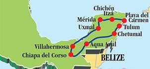 Krásy Yucatánu a Chiapasu **