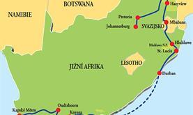 Napříč Jižní Afrikou