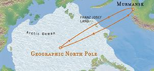 Ledoborcem na Severní pól **
