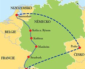 Plavba z Basileje do Amsterdamu
