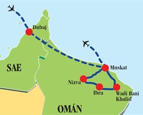 Dubaj & Omán