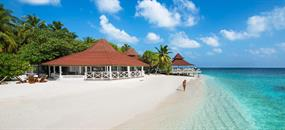 Diamonds Thudufushi, Maledivy - jižní ari atol - Beach Bungalow