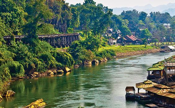 Velký okruh středním Thajskem