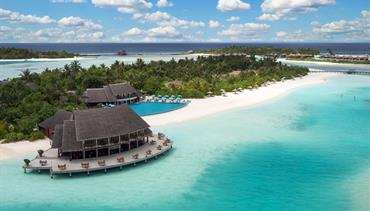 Anantara Dhigu, Maledivy-jižní malé atol - Sunset Pool Villa