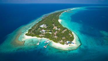 Kuramathi Island, Maledivy-severní Ari atol - Beach Villa
