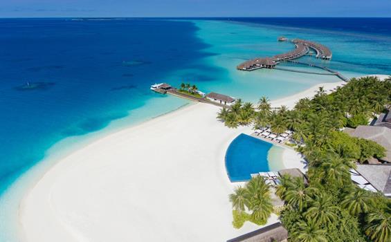 Velassaru Resort, Maledivy-jižní malé atol - Deluxe Bungalow