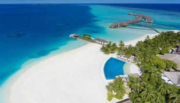 Velassaru Resort, Maledivy-jižní malé atol - Water Villa