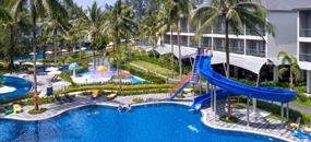 X10 Khaolak Resort, Phuket - pláž Hat Nang Thong