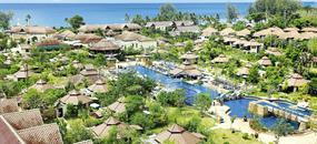 Seaview Resort, Khao Lak - pláž Nang Thong, Bangkok Palace Hotel, Bangkok