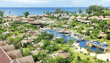 Seaview Resort, Khao Lak - pláž Nang Thong