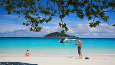 Suwan Palm Beach Resort - Khao Lak, pláž Nang Thong