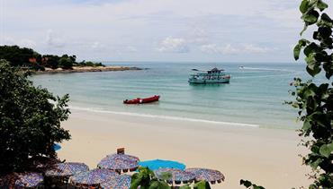 La Lune Beach Resort, Ko Samet - pláž Ao Wong Duen, Green Park, Pattaya, Bangkok Palace Hotel, Bangkok