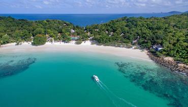 Samed Cabana Resort, Ko Samet - pláž Ao Wong Duen, Sea Breeze Resort, Pattaya, Bangkok Palace Hotel, Bangkok