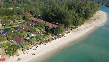 Klong Prao Resort, Ko Chang - pláž Klong Prao, Sunshine Garden, Pattaya, Bangkok Palace Hotel, Bangkok